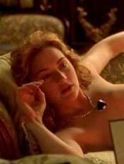 Kate Winslet enjoys reading my blog. Naked!